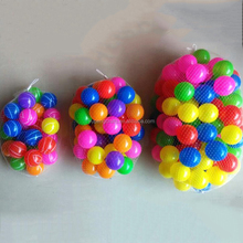 Wholesale customized good quality beer white plastic ball pit balls