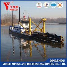 China Made River Cutter Suction Gold Panning Ship/Dredger For Sale