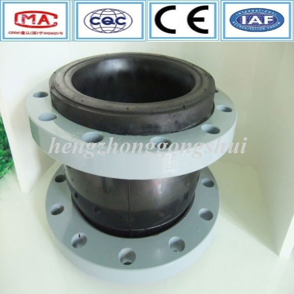 Rubber Flexible Bellows Flange Type Single Sphere