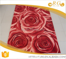 rubber backing custom fashion soft 100% wool decorative rugs