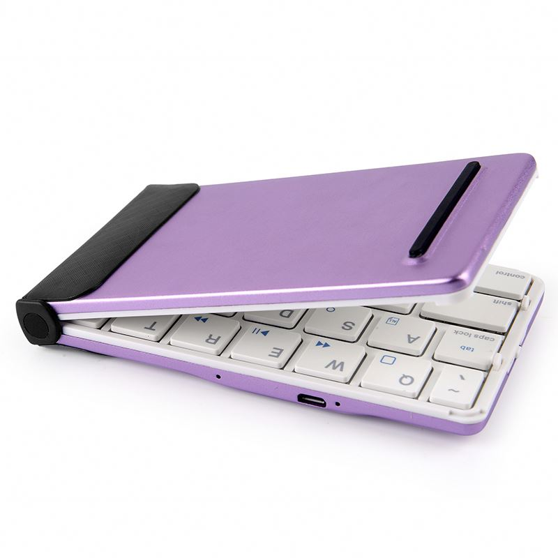 bluetooth keyboard for 5 inch andriod tablet, foldable keyboard, aluminum bluetooth keyboard