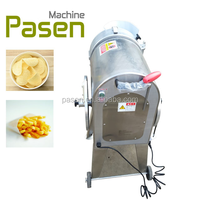 Widely used potato cube strip cutting machine / machine to make potato chips / root vegetable cutting machine