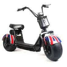1000w uk flag Popular Harley style Vespa Electric Scooter electric motorcycle