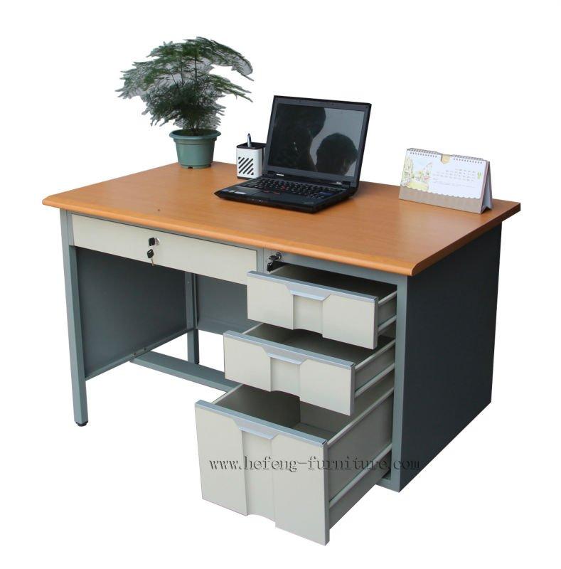 Bureau bureau avec 3 tiroirs pas cher tude bureau avec - Bureau de travail pas cher ...