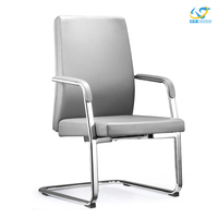 Shunde commercial furniture market desk chair/visitor chair/leather conference chair