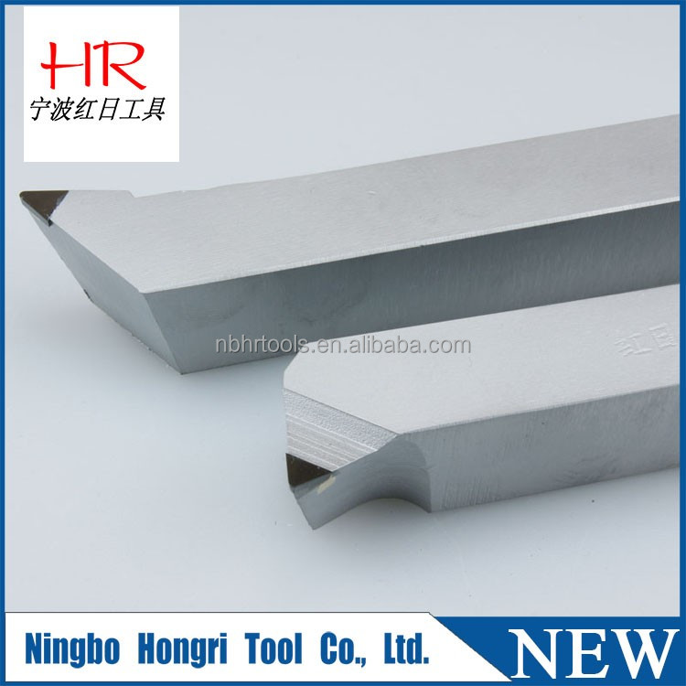 Thread turning tool pcd/cbn brazed external turning tools