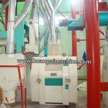 35-60TPD corn meal mill / maize mill impulse dust filters / maize milling machines for sale