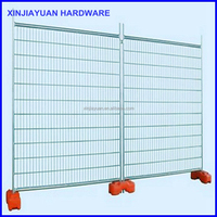 strong and steady construction site steel safety temporary fence section