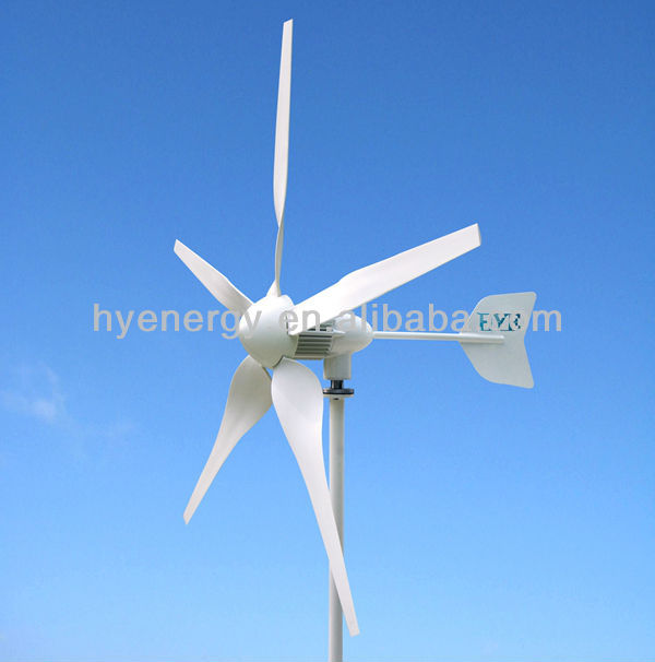 HYE 600W Wind Turbine Generator, Home Wind Power Kits