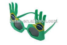2014 world cup Brasil design masquerade glasses for whole sale