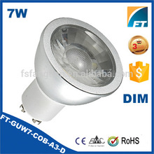 MR16 GU10 COB led lamps, Color changing MR16 GU10 bulb, Dimmable led spotlights