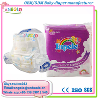 Colors Printed Back Sheet Disposable Baby Adult Diaper With Colors Plastic Bags