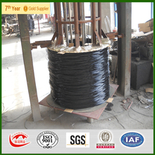 BWG 9 Q195 PVC coated wire with green color big roll PVC wire