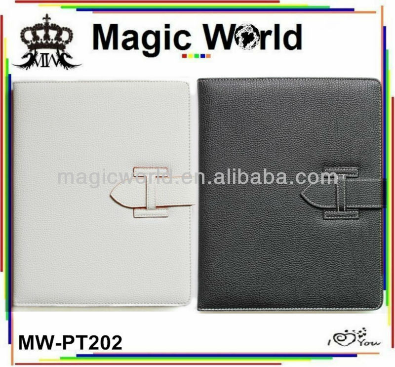 new leather with buckle case for ipad 2 3 4