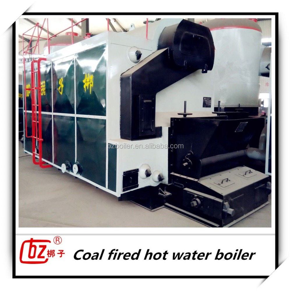 DZL coal fired hot water boiler for heating
