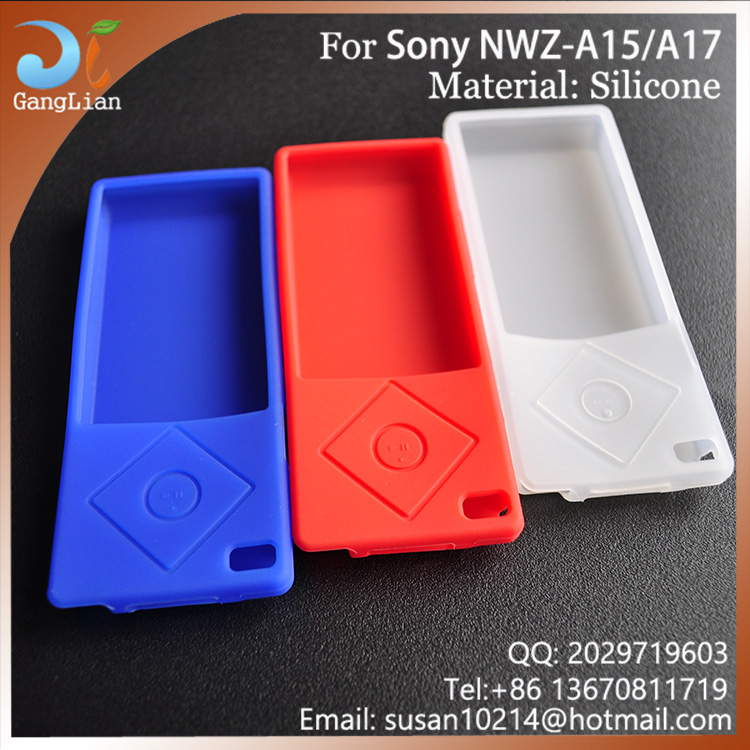 So Soft silicone cover for Sony NWZ-A15 A17 Walkman Video MP3 Player