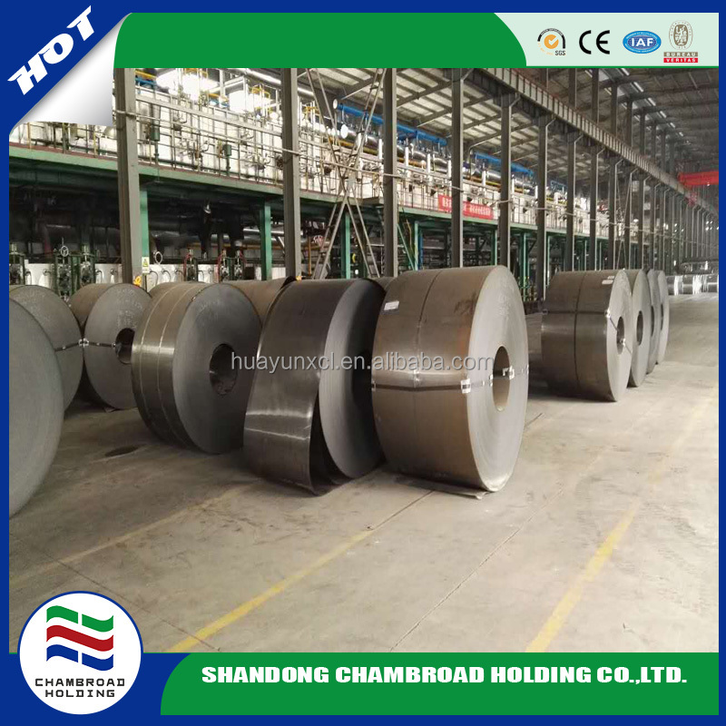 black annealed SPCC-1D cold rolled steel coil/ sheet factory