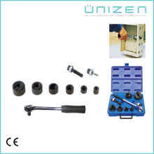 "UNIZEN Novelties Goods From China 1 1/2"" 2"" Steel Hydraulic Stud Hole Punch Tool"