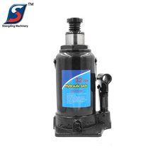 Car lifting tools telescoping bottle type 32 ton hydraulic jack