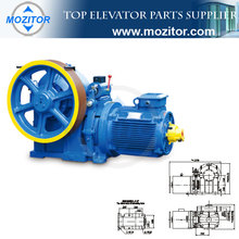 elevator company|Traction System|Traction Machine MZT-TG-FYJ245|high power elevator motor