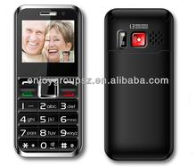 2014 new 3g bar senior phone with sos dual sim card