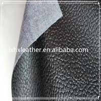 100% pu artificial leather for sofa upholstery furniture material DH342