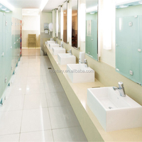 Construction Material Resin Artificial Nano Crystallized Coating Glass Stone Hotel Reception Desk/ Kitchen Top/ Wall Panel