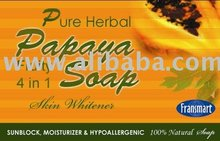 Papaya Fruity 4in1 Soap skin whitener