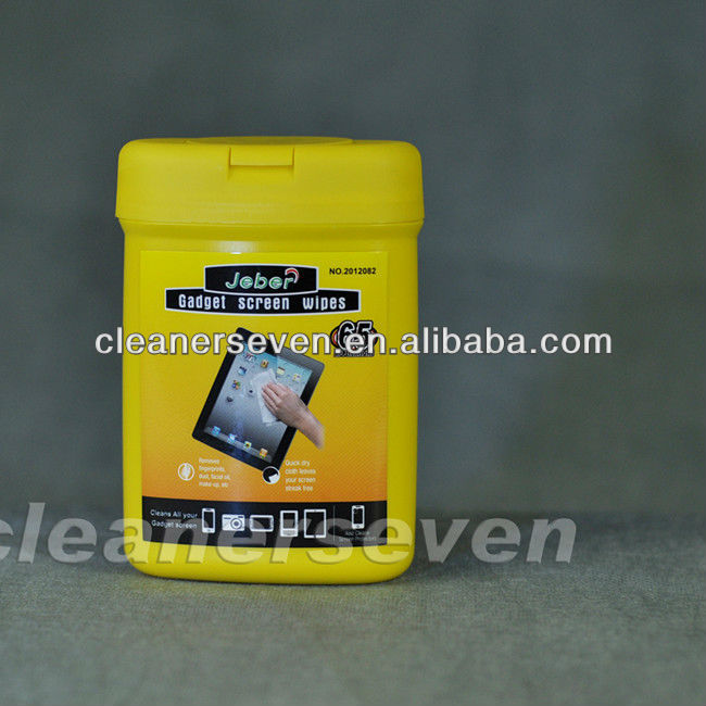 Cell phone screen wipes cleaner