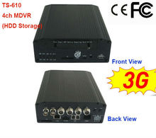 H.264 D1 ROHS CE FCC certified mobile dvr with cellphone cms software