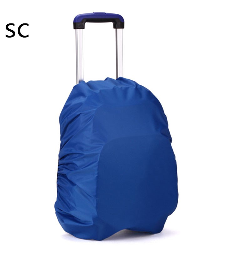 China supplier wholesaleCustom LOGO small moq order Waterproof Hiking travel 50l laptop Reflective Backpack Trolley Bag Cover