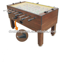 best sale glass top coin operated table soccer