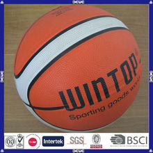 Popular design good quality colorful custom print basketball