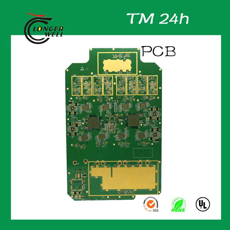 FR-4 Multilayer cctv camera board cob pcb assembly