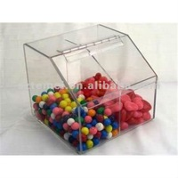 retail acrylic candy dispenser or acrylic sweet bin