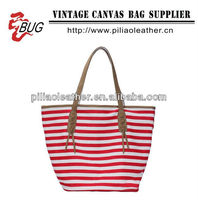 2014 BUG Factory directly export Cotton Canvas tote bag for shopping