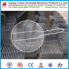 Stainless steel barbecue crimped wire mesh/Barbecue net
