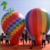 Latest Giant Inflatable Rainbow Helium Balloon / Advertising Display PVC Flying Sky Balloon Sphere