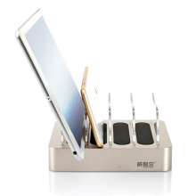 Desktop usb Multi Charger 4 Ports Multi Usb Cell Phone Charging Station For Iphone