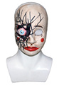 Eco-friendly PVC Vampire Mask Wholesale Scary Zombie Mask