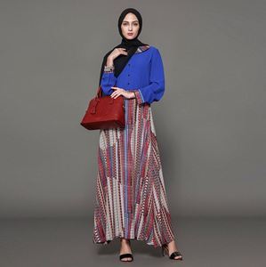 Women Muslim Dress Jalabiya Kaftan Baju Kurung Kedah Sequins Ladies Abaya Malaysia Kebaya Islamic