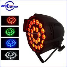 energy saving and lowest price full color disco solar 24 pcs 10W RGBW 4in1 LED Par Light