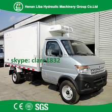 Good Quality Refrigerator Truck Cooling Truck Van Freezer Food Transport Box Truck For Sale