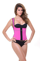 Ladies Sexy Corset Vest Waist Shaper Corset Latex Waist Cincher Latex Waist Training Corsets Trainer Body slimming suit