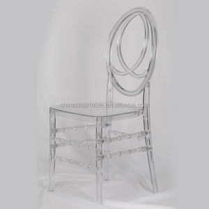 Resin Phoenix Chair, Plastic Polycarbonate Clear Phoenix Chair