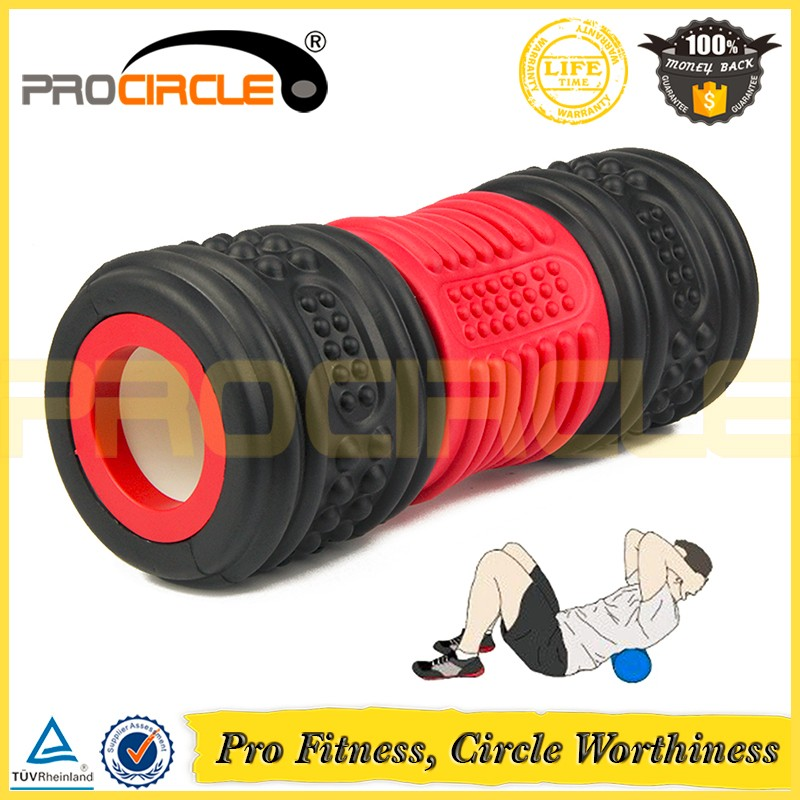 New Design High Density Gymnastic Rubber Massgae EVA Foam Roller