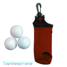 Factory Direct Manufacture Luxury High Quality Neoprene Golf Ball Bag