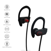 Factory price new high quality rubber headsets wireless bluetooth 4.1 for cellphone