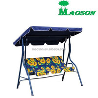 selling 2015 hot selling patio garden 2 people swing chair