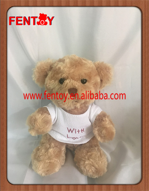 1pc for retail and whosale 20cm 8 inch soft plush teddy bears bulk